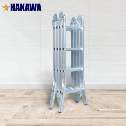 Thang nhôm gấp 4 khúc Hakawa Hk-404 New