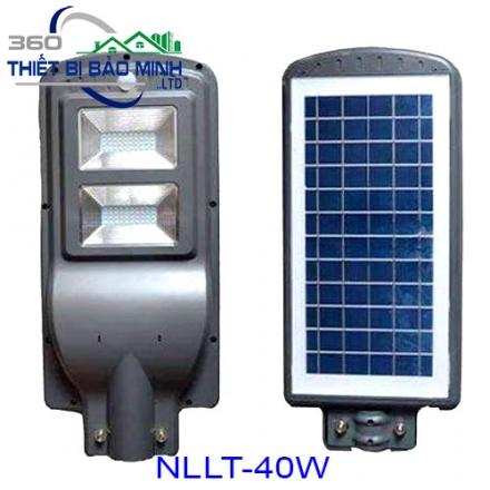 Đèn Năng Lượng Măt Trời Liền Thể NLLT-40W