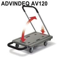 Xe đẩy hàng Đài Loan gấp siêu gọn ADVINDEQ AV120