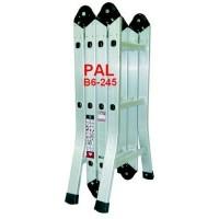 Thang nhôm gấp 4 đoạn PAL B6-245