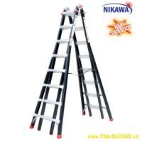 Thang nhôm gấp đa năng Nikawa NKB-48