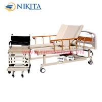 Giường y tế + xe lăn 9 chức năng NKT-C09