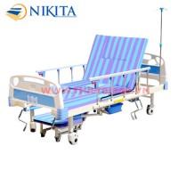 Giường bệnh 5 tay quay Nikita - DCN05 (NKT-E04-IV)