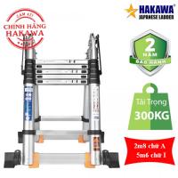 Thang Nhôm Rút Chữ A HAKAWA HK-256