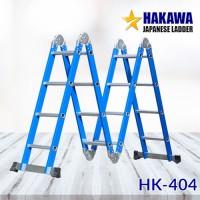 Thang nhôm gấp đa năng 4 khúc HAKAWA HK-404