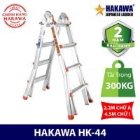 Thang Nhôm Chữ A Trượt Đa Năng HAKAWA HK-44