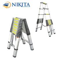 Thang nhôm rút đôi chữ A Nikita NKT-AA38
