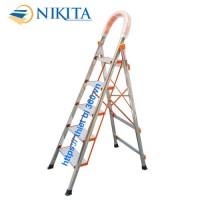 Thang INOX tay vịn 5 bậc Nikita NKT-05
