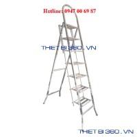 Thang INOX tay cong 7 bậc BM-07