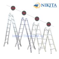 Thang nhôm khóa sập tự động Nikita Nika-17