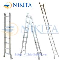 Thang nhôm khóa sập tự động Nikita Nika-25