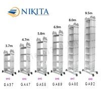Thang nhôm gấp 4 Nikita GA ( Model 37-92)