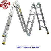 Thang nhôm gấp chữ M TAIWAN TA4-230