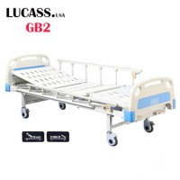 Giường bệnh nhân 2 tay quay Lucass GB2