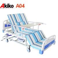 Giường bệnh 4 tay quay đa chức năng Akiko A85-04