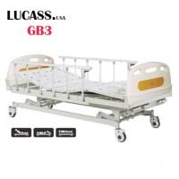 Giường bệnh nhân 3 tay quay Lucass GB3